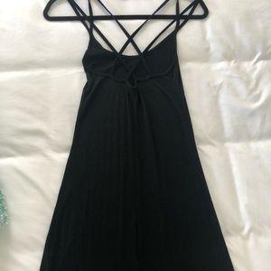 Beyond Yoga maxi dress black size Small